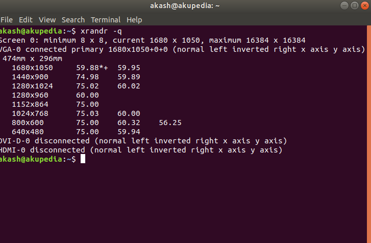The CLI way to adjust monitor brightness in Linux !