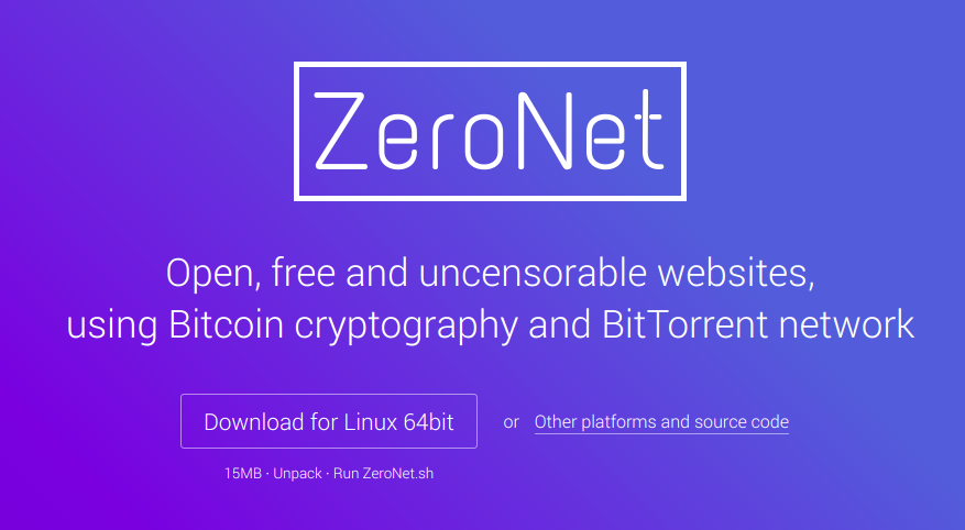 ZeroNet – A how to installation guide and it's nitty gritty's